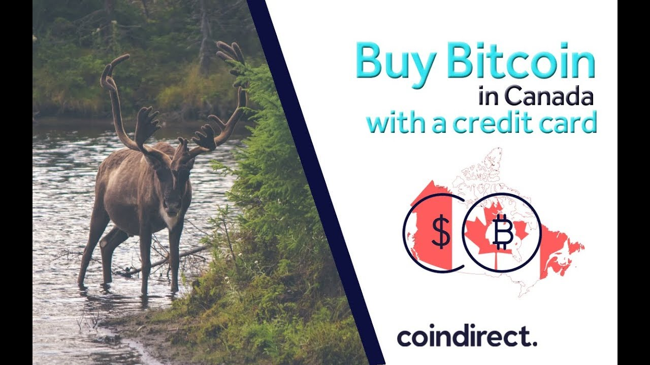 How to buy bitcoin in Canada with a credit card (2019)