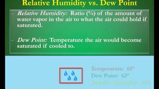 Humidity vs Dew Points:  What's the Difference?