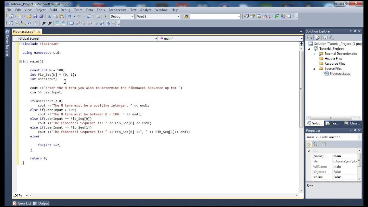write a vb net program to perform fibonacci series
