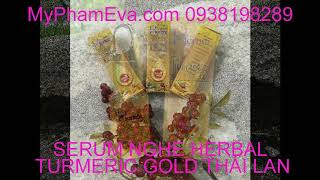 SERUM NGHỆ HERBAL TURMERIC GOLD THÁI LAN