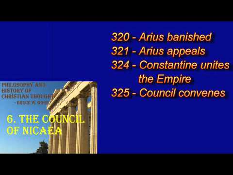 22. The Council of Nicaea