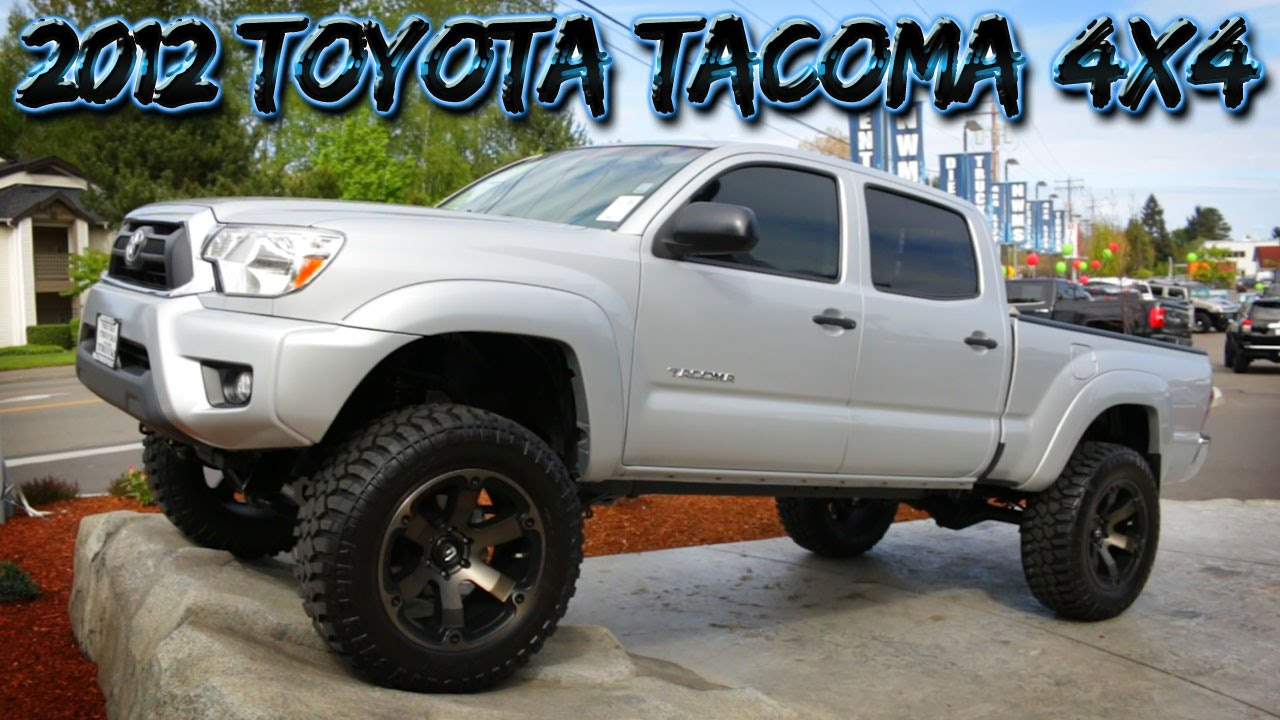 lifted 2012 toyota tacoma 4x4 northwest motorsport youtube. Black Bedroom Furniture Sets. Home Design Ideas