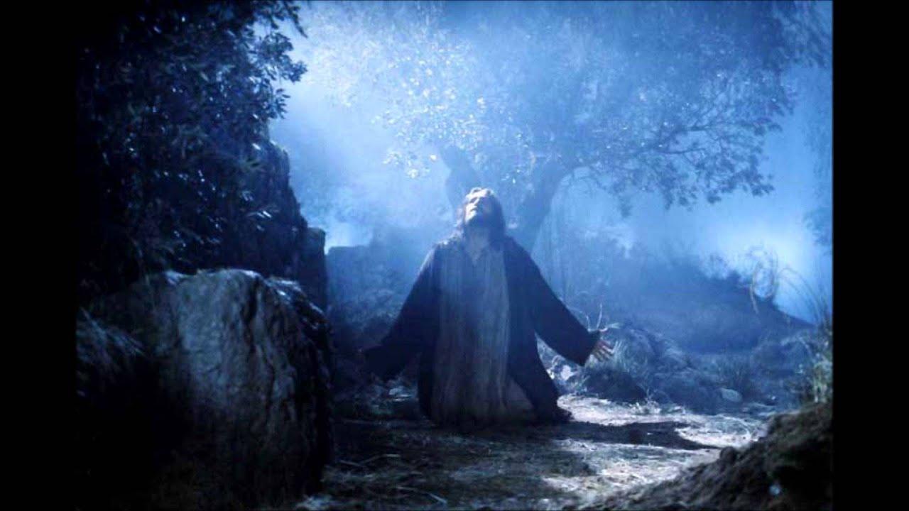 In the garden of gethsemane youtube - Jesus praying in the garden of gethsemane ...
