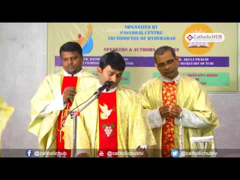 English Mass@TCBC Catechism and Value Education Serie, Pastoral Centre Arch Diocese of Hyd, TS,INDIA