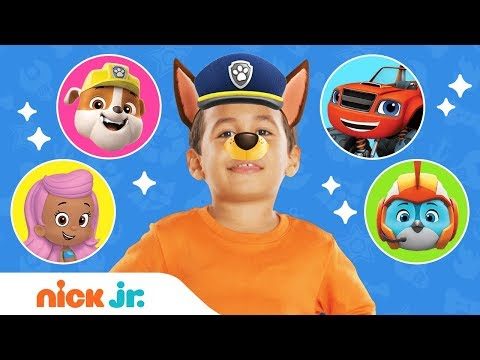 Best Of Junior Dress Up Compilation w/ PAW Patrol, Bubble Guppies & More!  | Jr. Dress Up | Nick Jr.