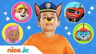 Best Of Junior Dress Up Compilation ft. PAW Patrol, Bubble Guppies & More! | Nick Jr.