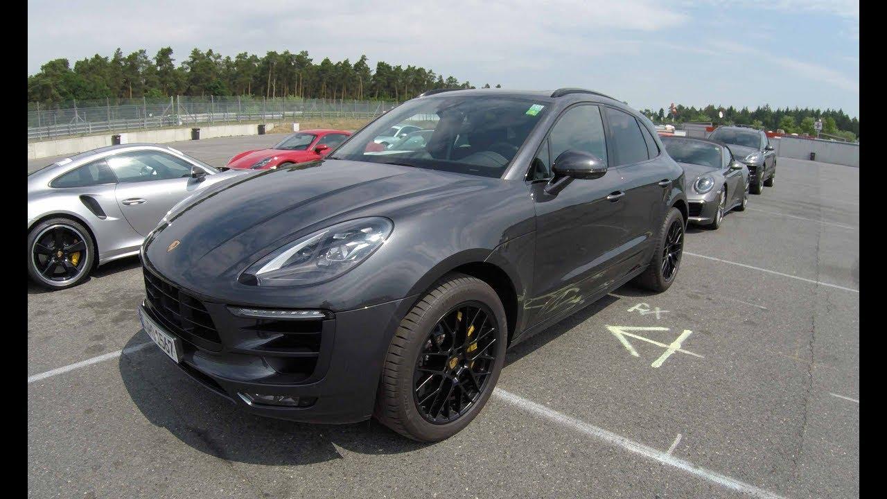 Porsche Macan Gts New Model 2017 Black Colour Walkaround