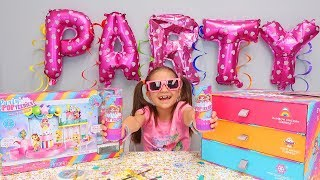 Hailey Pops Surprises and Party POP Teenies Surprise Toys Opening!