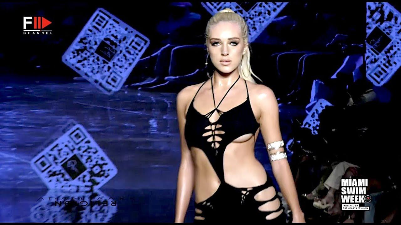 ADAM SAAKS RELIGION Art Hearts Fashion Swim 2022 Miami - Fashion Channel