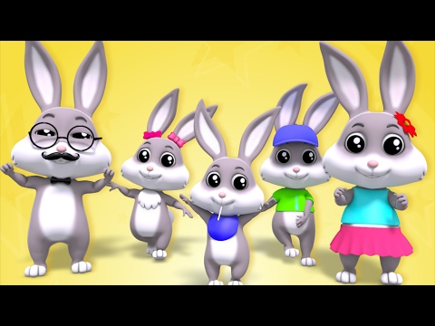 Rabbit Finger Family | Nursery Rhymes | Children Songs | Baby Rhymes | Kids Videos by Farmees - Прикольное видео онлайн