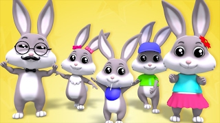 Rabbit Finger Family | Nursery Rhymes | Children Songs | Baby Rhymes | Kids Videos by Farmees S02E33
