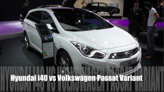Hyundai i40 2015 vs Volkswagen Passat Variant 2015