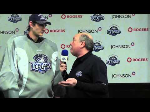 Connor Hellebuyck - IceCaps 360 (Jan. 9, 2015)