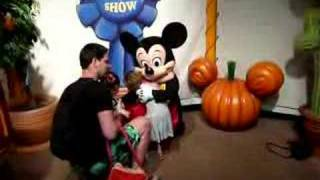 Mickey Mouse sings Happy Birthday to Daddy