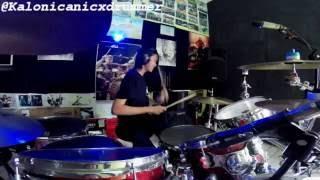 Jaz - Dari Mata Drum Cover by 11 yo Kalonica Nicx