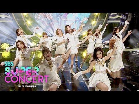IZONE - Intro + Violeta + Up [SBS Super Concert in Gwangju Ep 2]