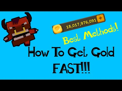 How To Get Gold FAST! | Best Methods! | Roblox Giant Simulator
