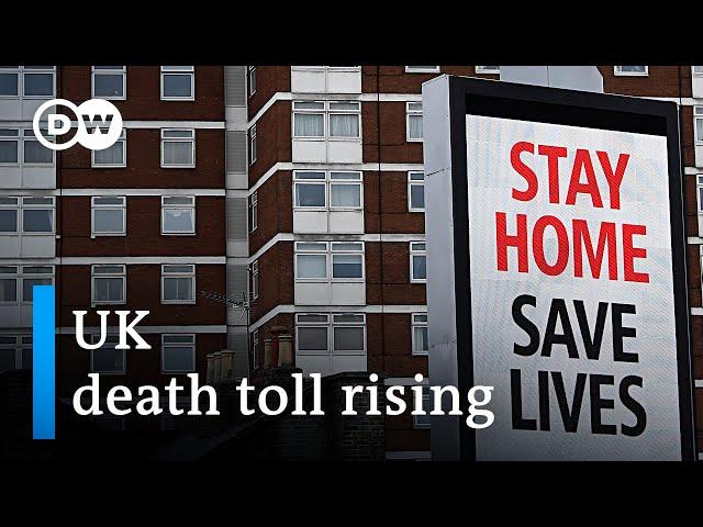 Coronavirus: Britain reports record death toll | DW News