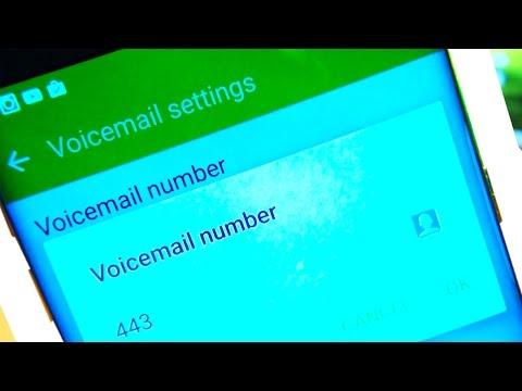 Samsung Galaxy S7 S7 Edge Voicemail Setup