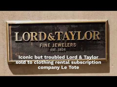 who bought lord and taylor