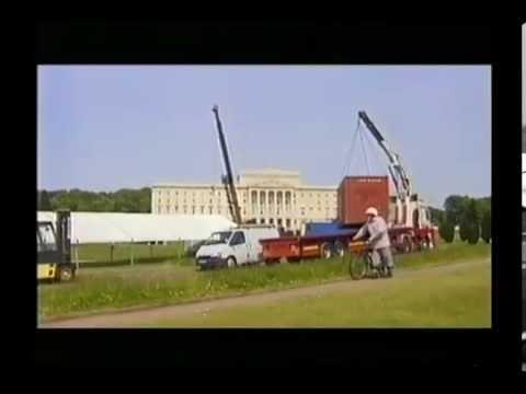 "Elton John ""Ten Days in May""  Stormont Castle Ireland Documentary 1998"