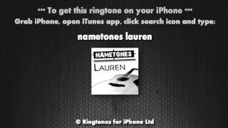 Lauren Pick Up Your Phone