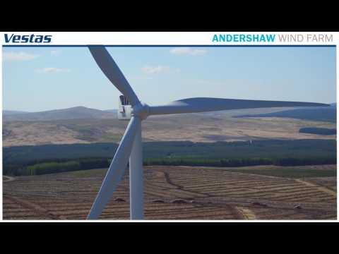 Statkraft Andershaw Wind Farm Scotland Vestas