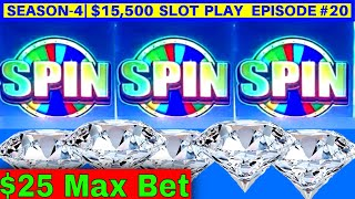 High Limit Liberty Link Slot Machine $25 Max Bet Bonus | Season 4 | Episode #20