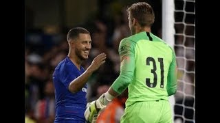 CHELSEA 0-0 LYON (5-4 on pens Hazard winner!) match review PLUS Kepa latest
