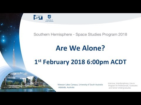 SHSSP18 Are we a Alone ?