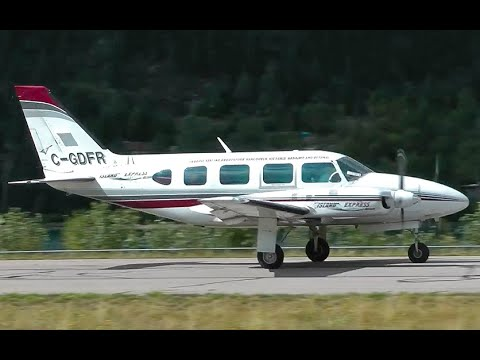 Piper PA-31 Navajo Heavy Takeoff