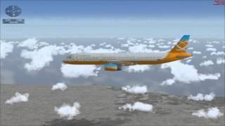 Microsoft Flight Simulator X. Рейс Рим - Неаполь