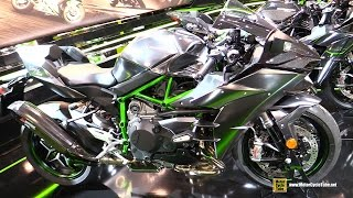 2017 Kawasaki Ninja H2 Carbon - Walkaround - 2016 EICMA Milan
