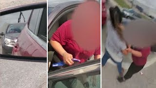 Pregnant woman attacked in Houston road rage incident