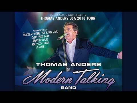 Thomas Anders (Modern Talking) - concert - live - Starlight Bowl - Burbank CA - August 18, 2018