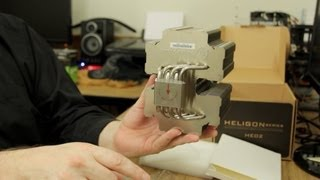 Silverstone Heligon HE02 CPU Cooler Unboxing & Hands On!