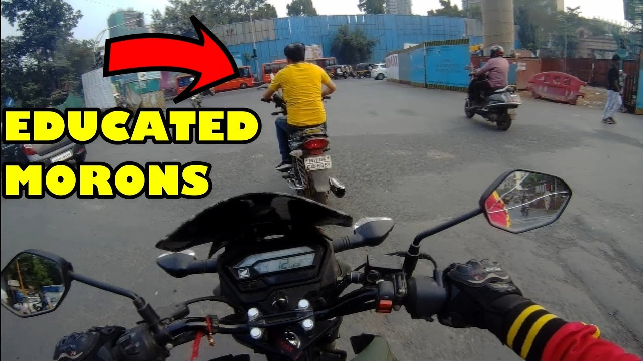 ROAD RAGE!!! BANGALORE STREET Angry Biker VS Cab Driver