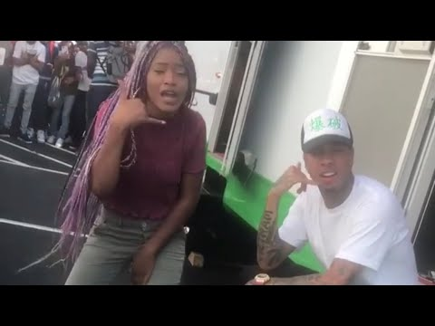 Keke Palmer Flirts With Tyga While Rapping Do For The D*ck Challenge