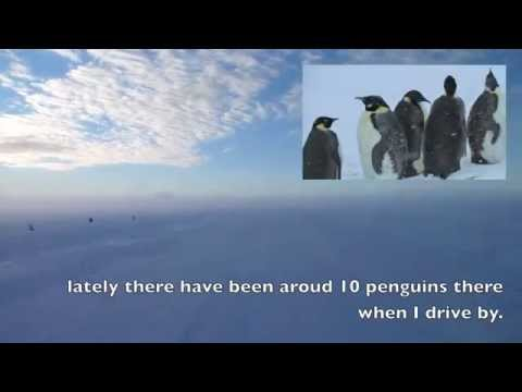Drive from McMurdo to Pegasus Field, Antarctica in a Delta.