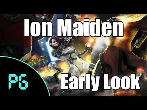 Ion Maiden - An Early Look at a Retro Style Shooter