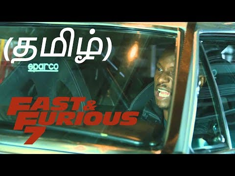 Fast And Furious 7 Flight Scene Tamil