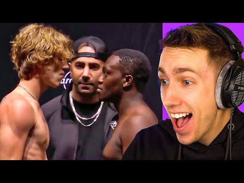LIVE REACTION TO YOUTUBERS vs TIKTOKERS WEIGH-IN