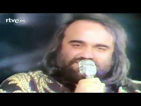 DEMIS ROUSSOS- Morir al lado de mi amor 19-4-1977 TVE
