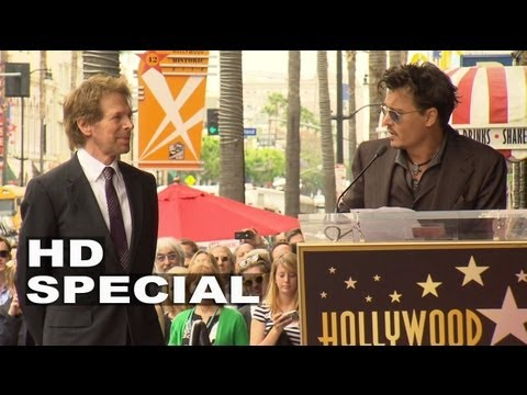 Jerry Bruckheimer Hollywood Walk of Fame Star Ceremony: Johnny Depp Speech