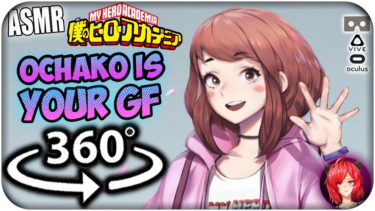 Download Ochako Uraraka Is Your Girlfriend~ [ASMR] 360: My Hero Academia 360 VR