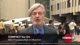 COMPACT Vor Ort: NSU-Prozess in München - mit Jürgen Elsässer