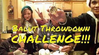 BALUT THROWDOWN CHALLENGE!!! - ADOBO Sandwich