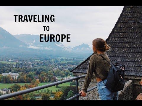 TRAVELING TO EUROPE VLOG!!! (DAY 1)