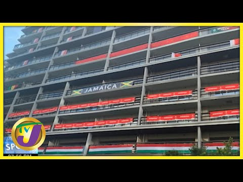 Jamaica's Team Accommodations at the Tokyo Olympics - July 22 2021