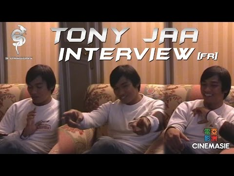 Tony Jaa Interview [FR - Paris - 2005]